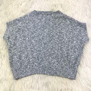 Field & Flower Mock Neck Short Sleeve Sweater